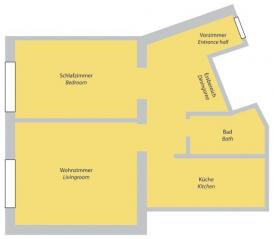 Apt no. 14: Floorplan