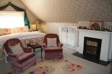 The Central Park Bedroom Fireplace