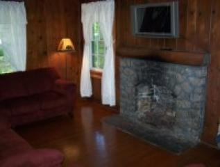Cabin 5 Fireplace