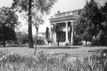 Historic photo of Churchill Manor