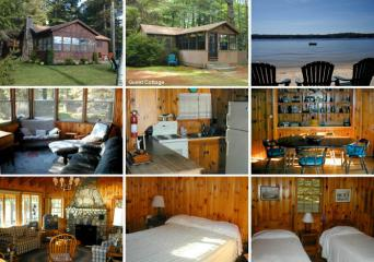 Brandy Pond Cottage, Dayebrook  Vacation Rental